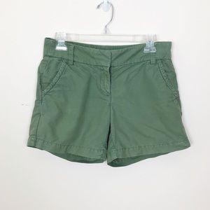 J. Crew Oxford Shorts Green
